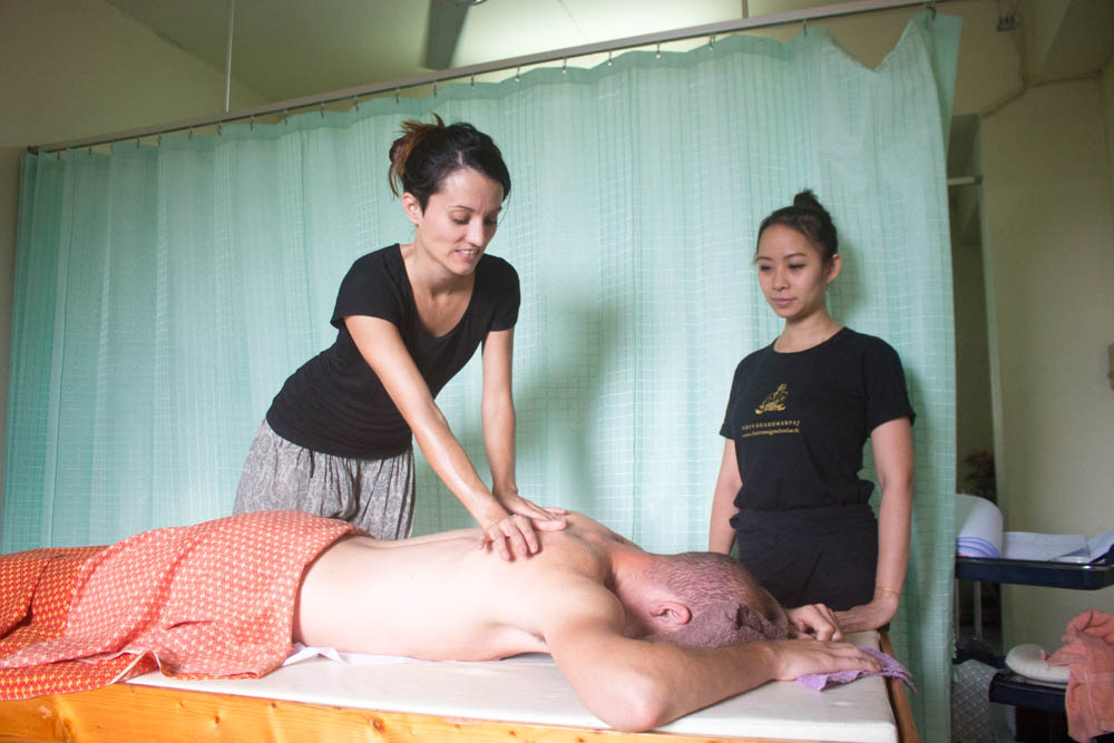 Aroma oil Massage course