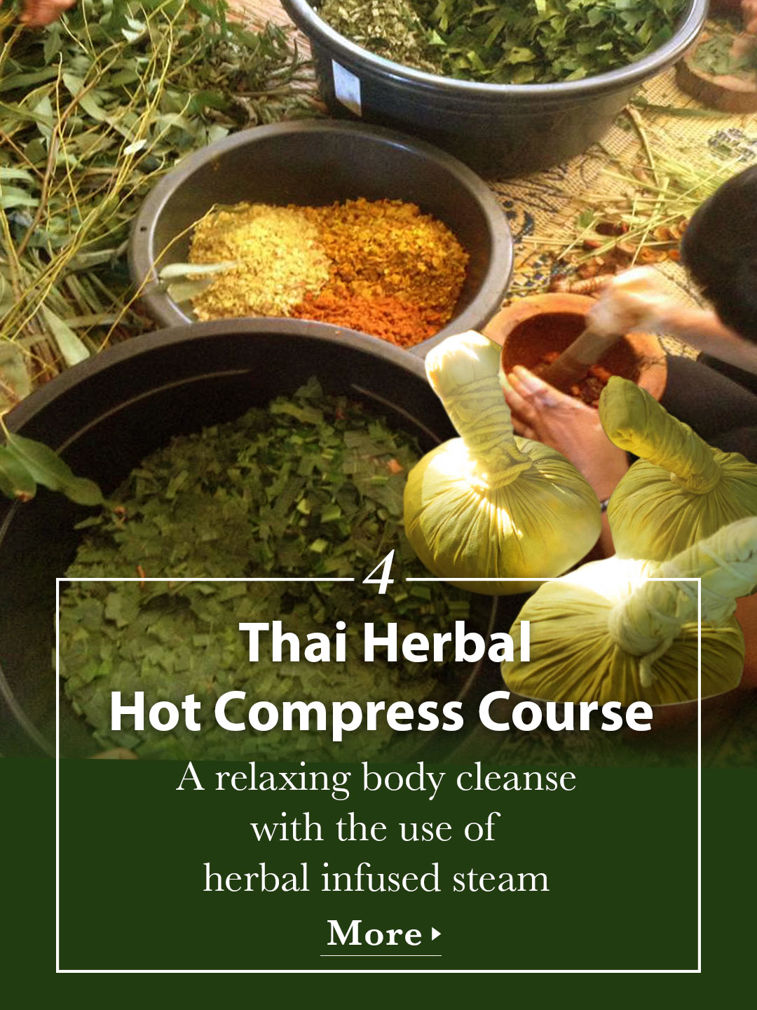 Thai Herbal Hot Compress Course